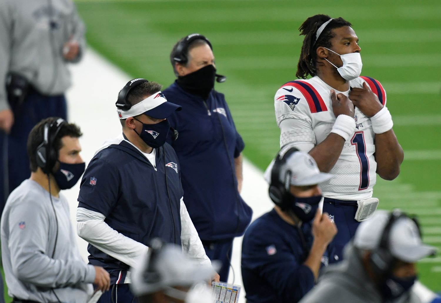 Bill Belichick has cost Cam Newton a shot at $1 million by failing to surround him with enough talent, which has left the Patriots in a position to miss the playoffs for the first time since 2008.