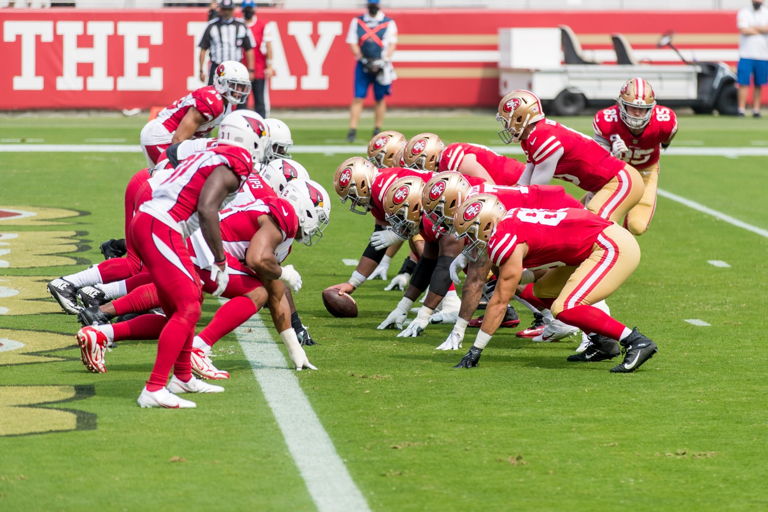 The San Franciso 49ers and Arizona Cardinals game is going to be part of a week-long partnership between the NFL and Amazon.