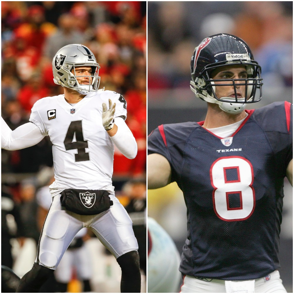 Does Raiders QB Derek Carr or His Brother David, the 2002 No. 1 Overall Pick, Have a Higher Net Worth?