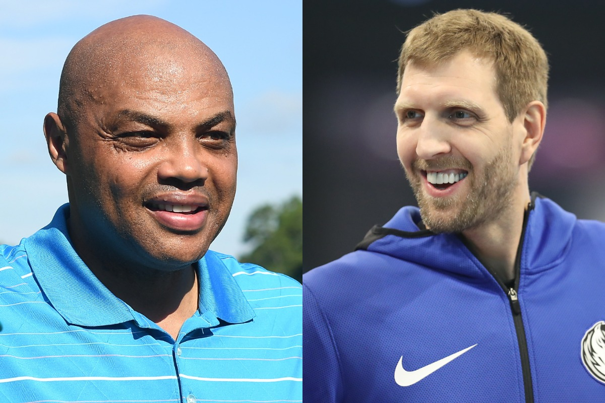 Basketball fans may not always trust Charles Barkley's game predictions, but he correctly guessed that a young Dirk Nowitzki would become a star.