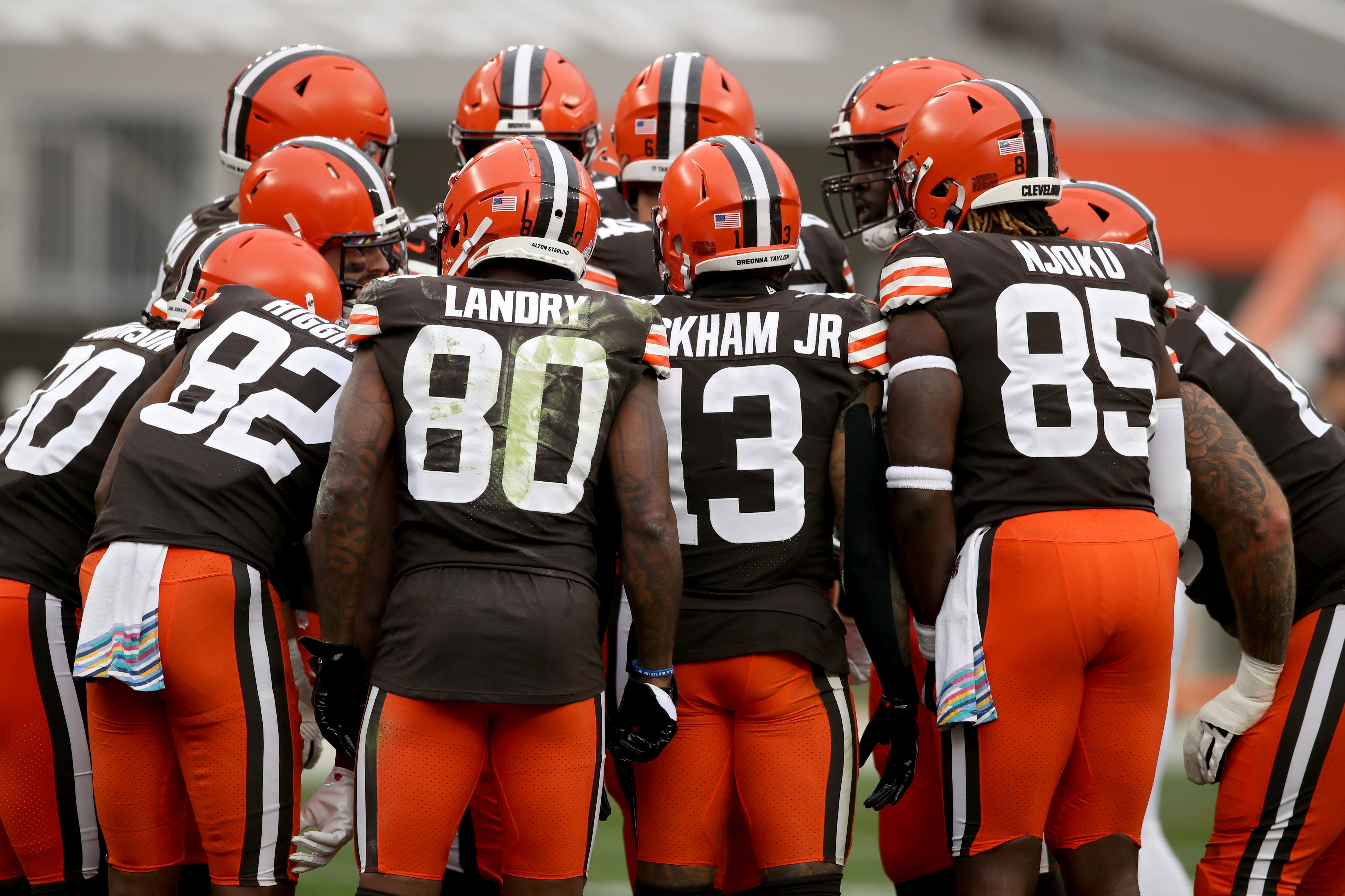 The Cleveland Browns lost four receivers to COVID-19 at the worst possible time.