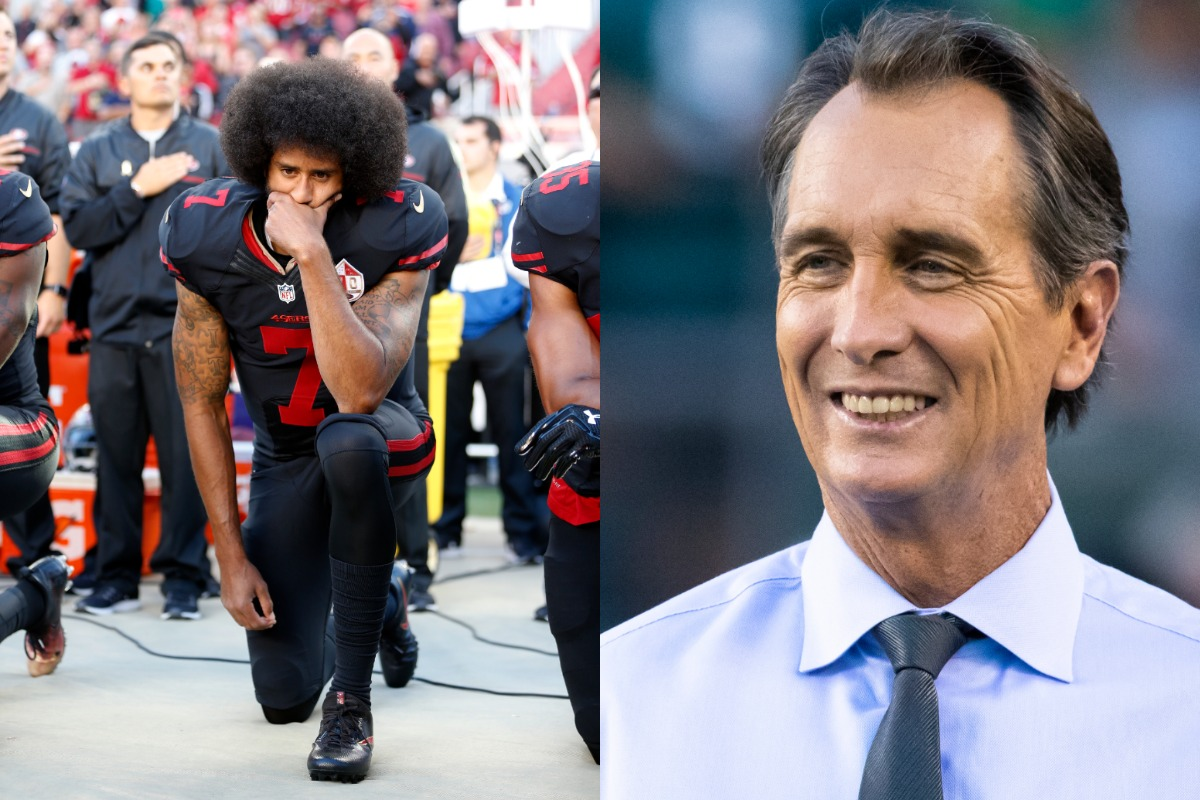 Colin Kaepernick changed the world when he took a knee during the national anthem in 2016. Cris Collinsworth said he's 'struggled' with Kaepernick's choice to take a knee.