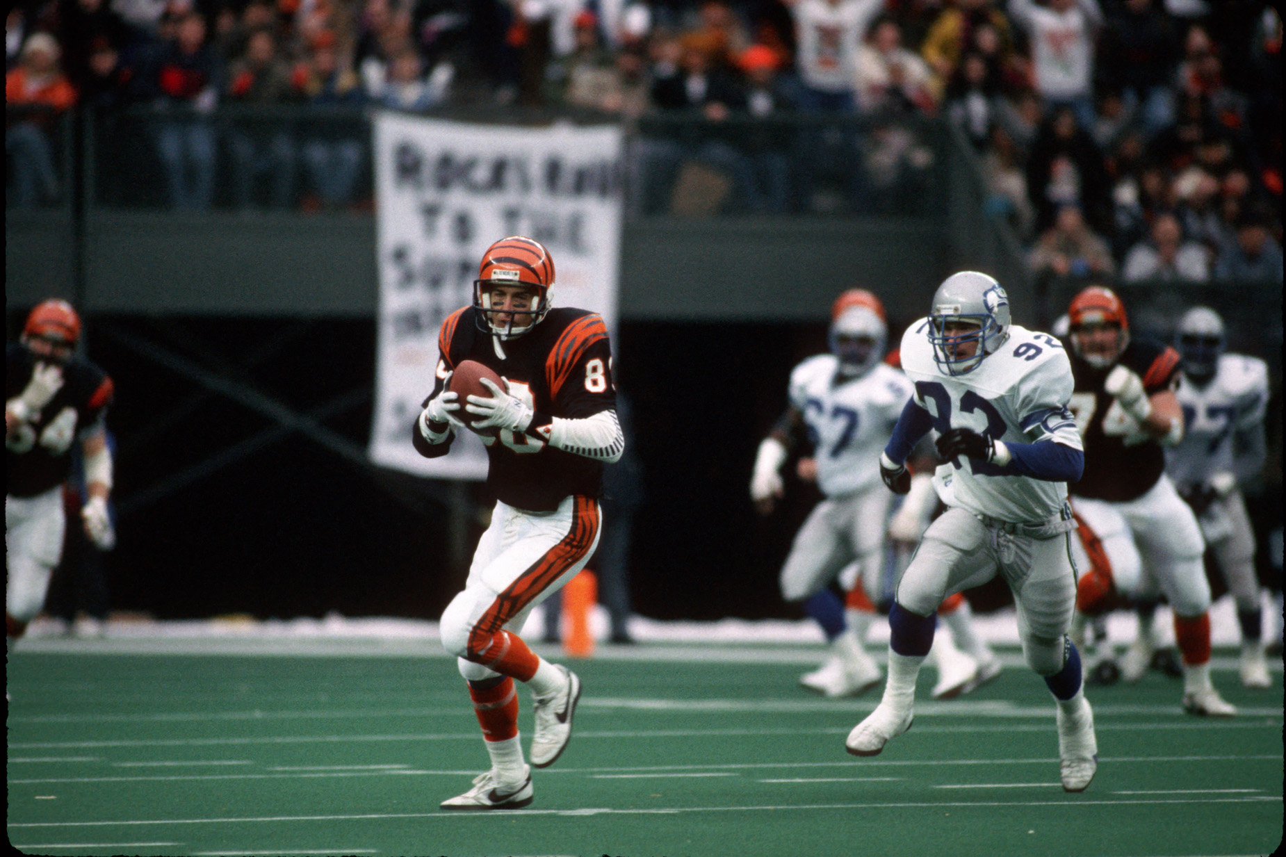 Cris Collinsworth is about to lose his place in Cincinnati Bengals history to Tee Higgins.