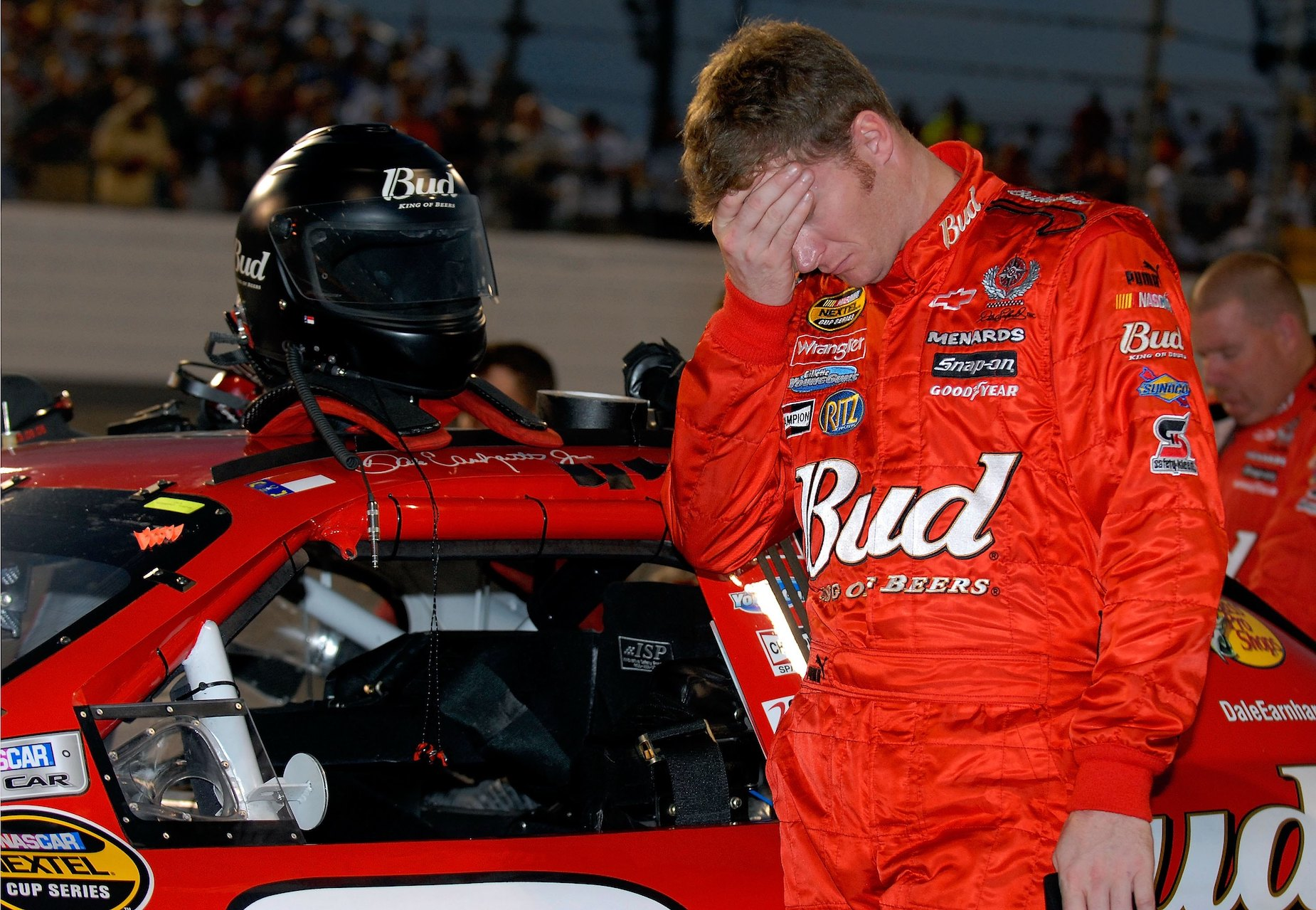 Dale Earnhardt Jr. admitted that, during his early career, he let partying get in the way of racing. |