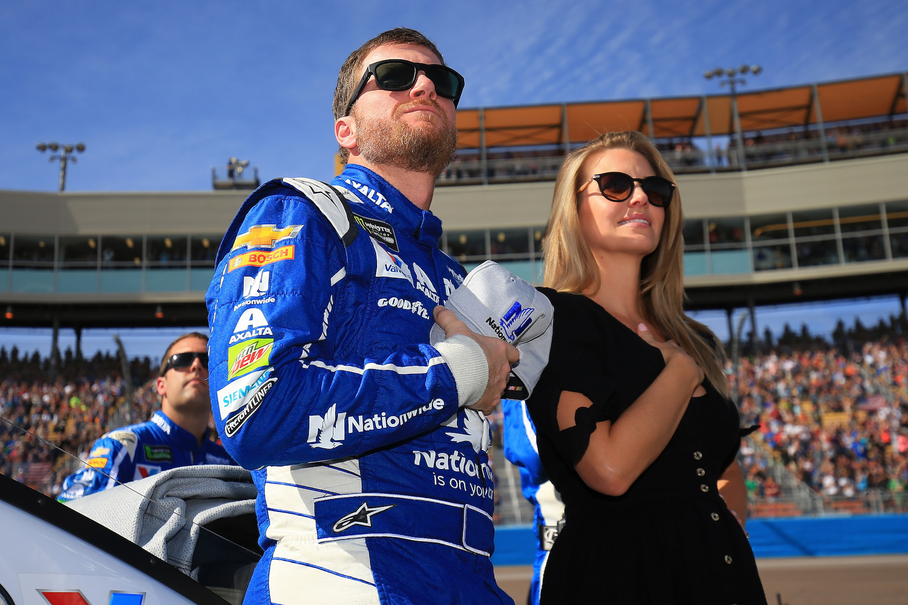 Dale Earnhardt Jr. worried that he ruined his relationship with his wife after a drunken go-karting accident.