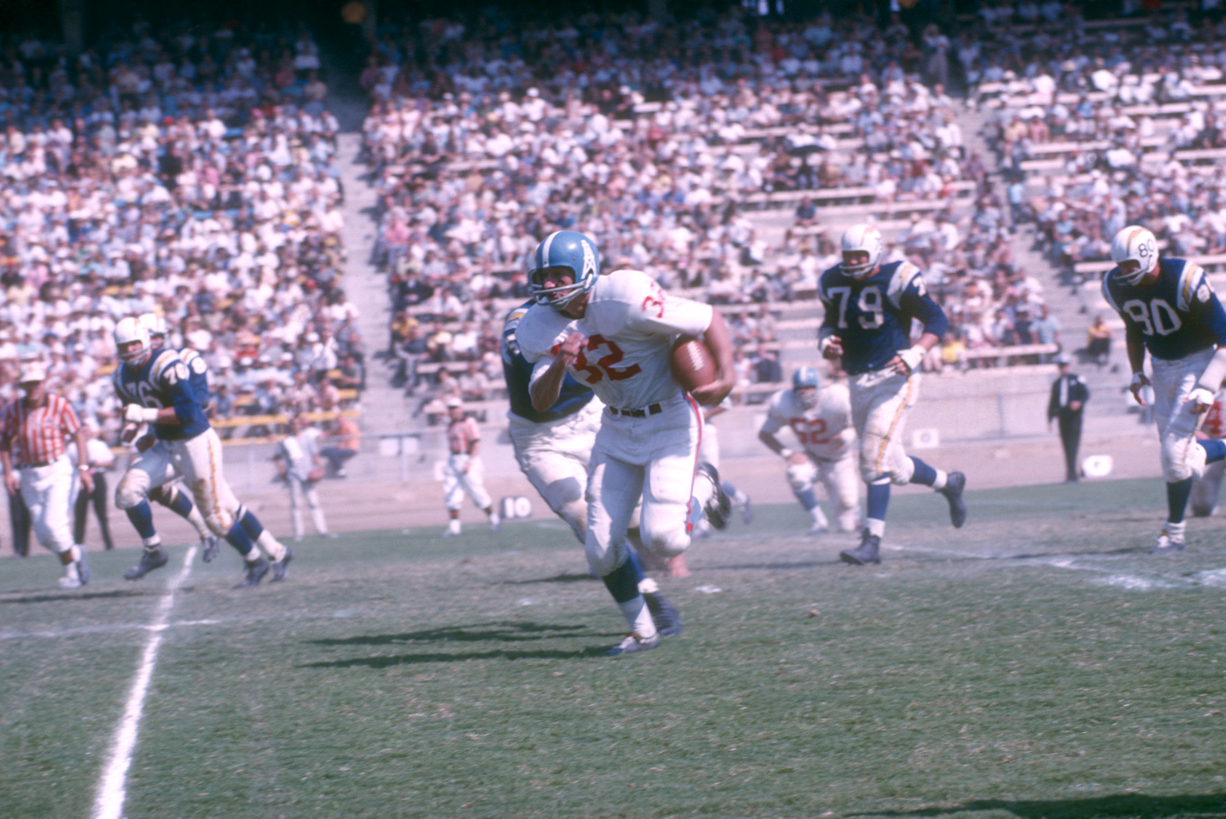 Houston Oilers v San Diego Chargers in 1962