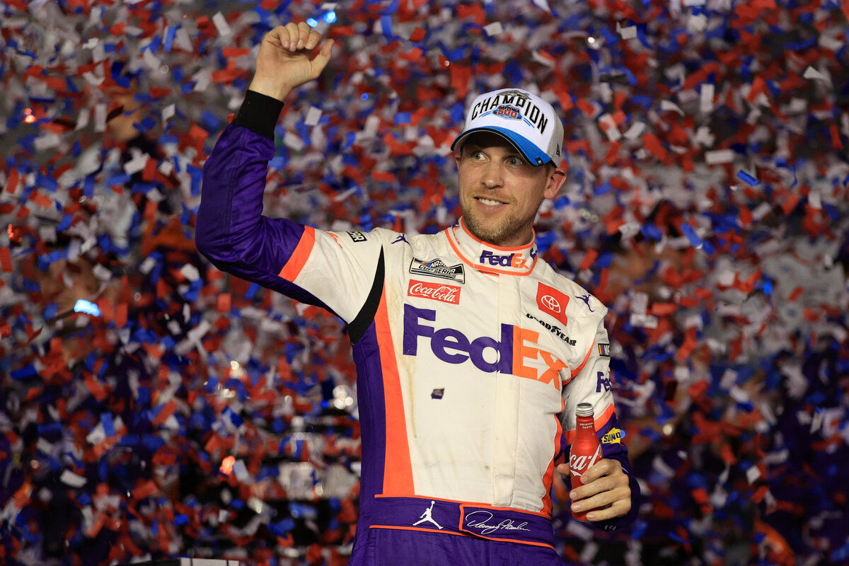Denny Hamlin has become a NASCAR icon over the years. To accomplish that feat, Hamlin had to teach himself how to have fun behind the wheel again.