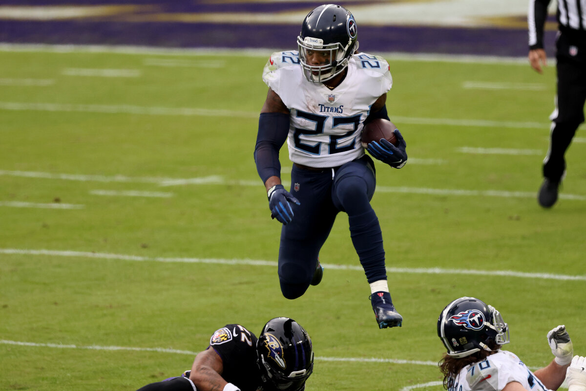 Tennessee Titans star Derrick Henry has become one of the league's top running backs under Mike Vrabel's watch. Vrabel knows how to make Henry even better.