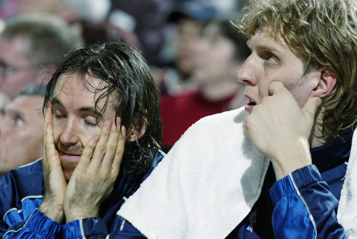Dirk Nowitzki and Steve Nash starred together on the Dallas Mavericks. Nowitzki has no desire to follow in Nash's footsteps and become an NBA head coach.