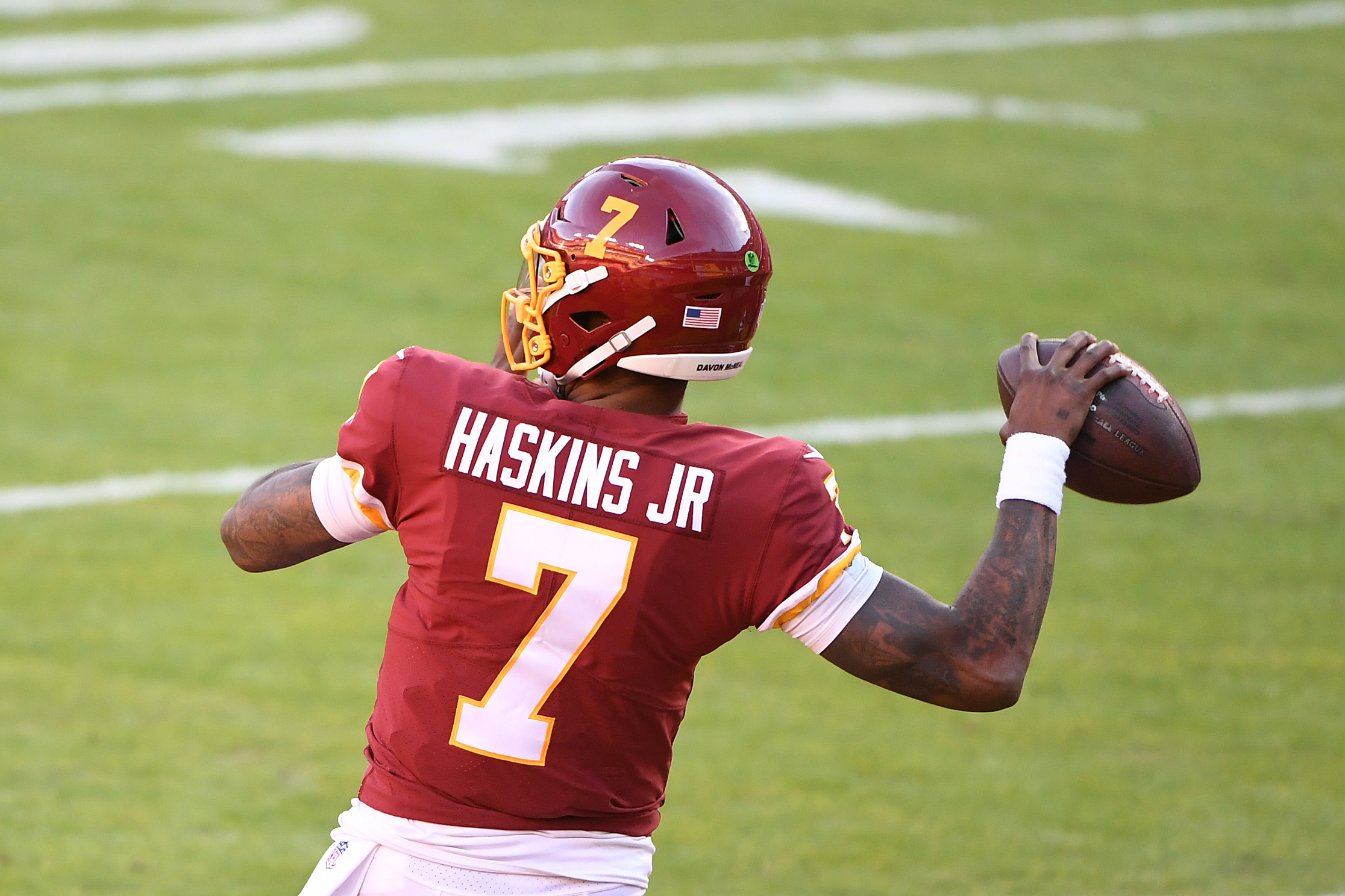 Dwayne Haskins quickly wore out his welcome in Washington.