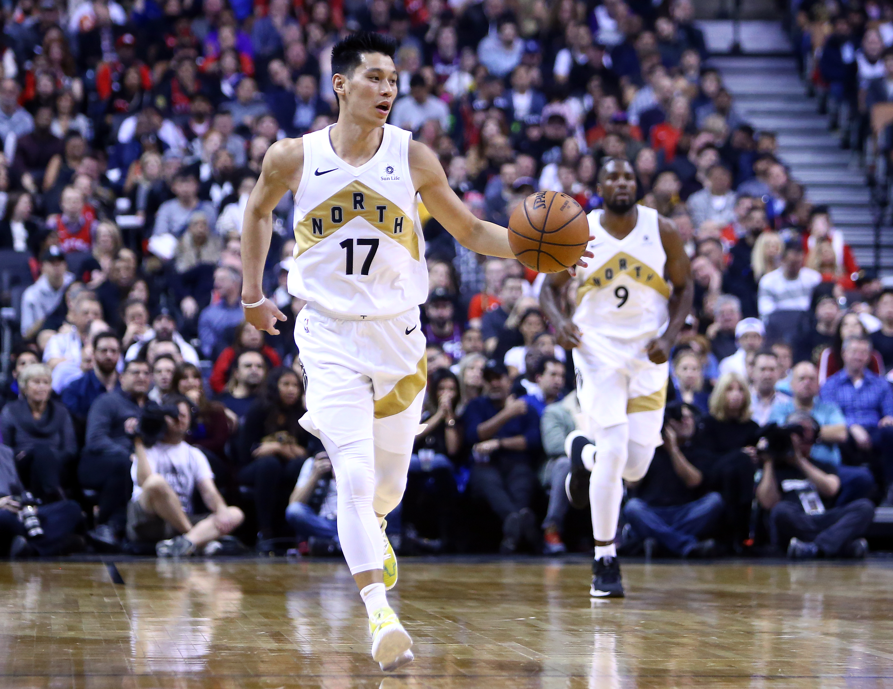 While Yao Ming and Jeremy Lin are two of the most recognizable Asian NBA players of all time, are there are Asian players in the NBA today?