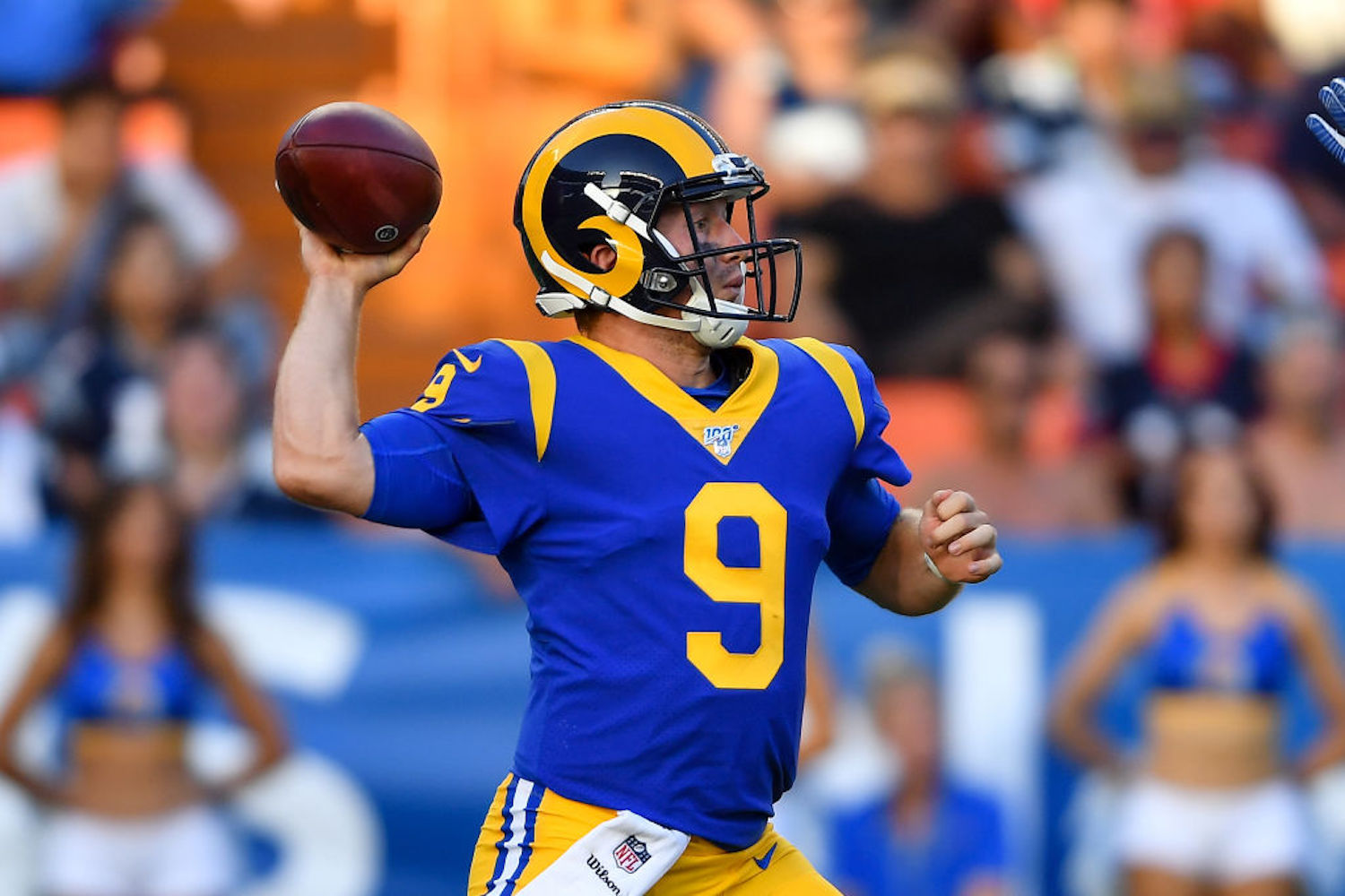 Everything You Need to Know About John Wolford, the New Starting Quarterback for the LA Rams