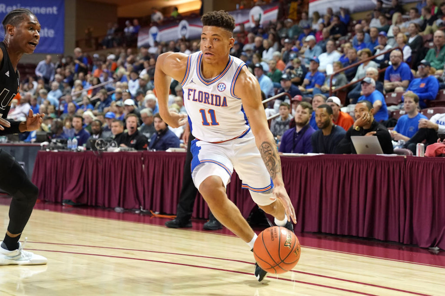 Keyontae Johnson collapsed on the court last weekend, but the latest update on his health made basketball fans breath a sigh of relief.