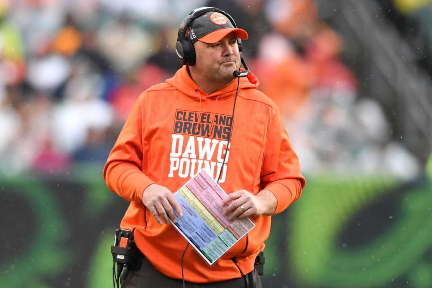 Freddie Kitchens had an underwhelming season with the Cleveland Browns in 2019, but COVID-19 has given him a chance for revenge this weekend.