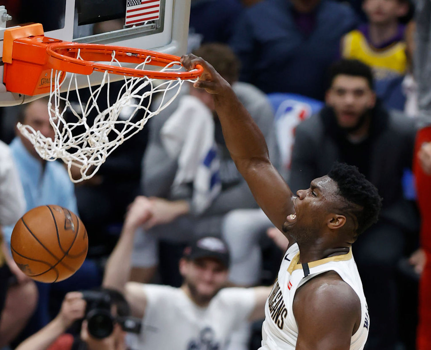 Zion Williamson was impressive last season as a rookie, but Pelicans VP David Griffin says we haven't even seen him at his best yet.