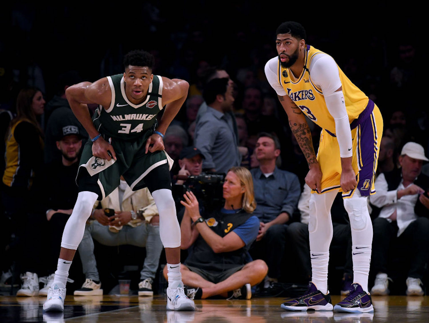 The LA Lakers were interested in Giannis Antetokounmpo, but that dream is officially dead after the team signed Anthony Davis to an extension.