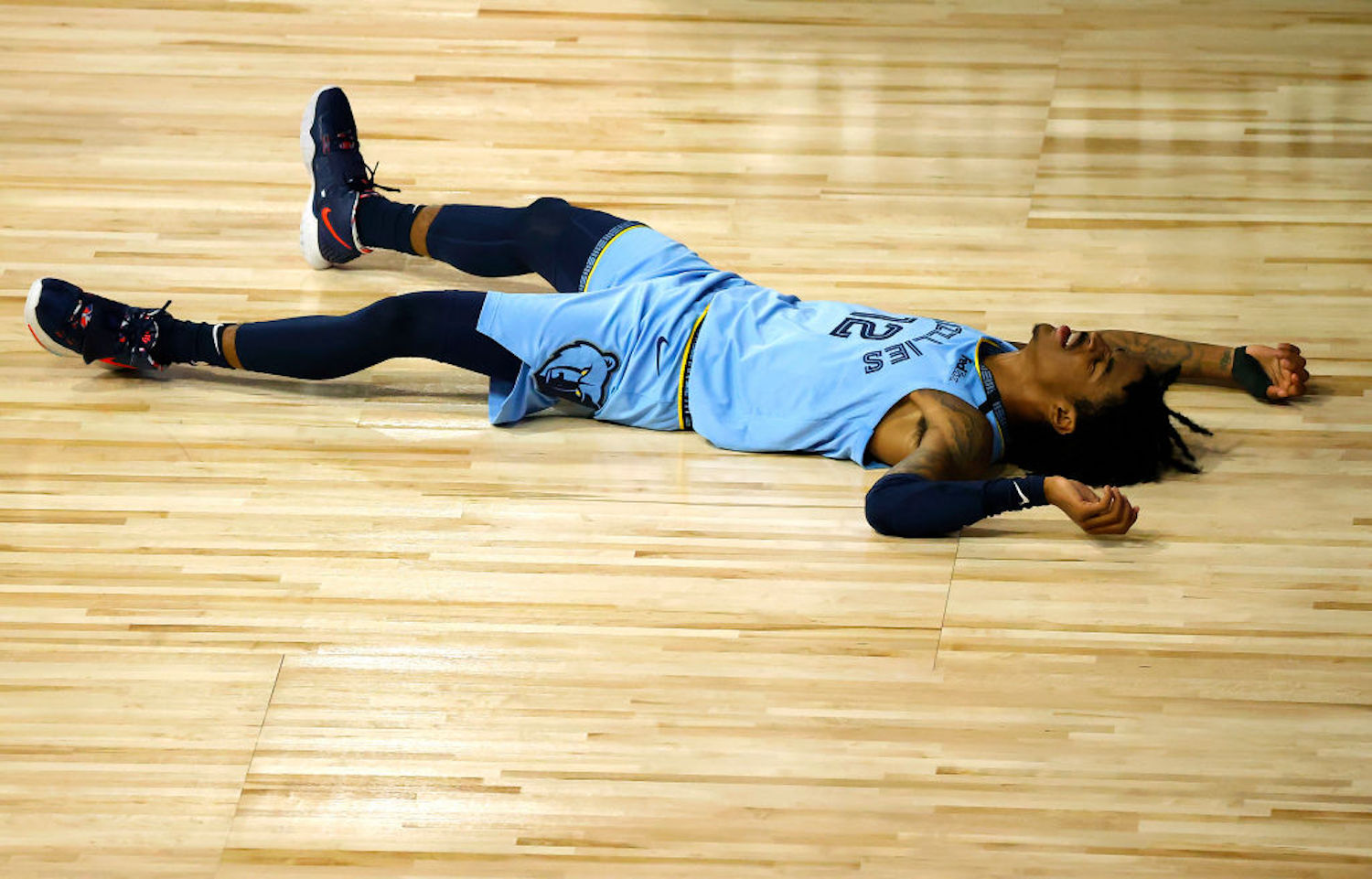 Ja Morant was wheeled off the court Monday after suffering an ankle sprain, but the X-ray made Grizzlies fans breathe a sigh of relief.