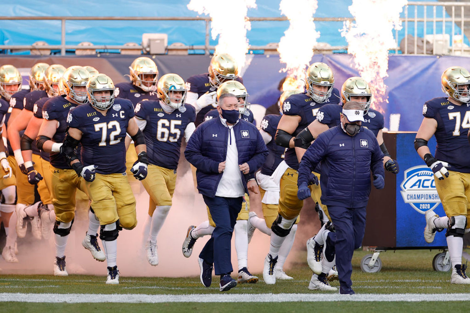 Notre Dame just lost by 24 to Clemson in the ACC Championship, but they still made the College Football Playoff. How come?