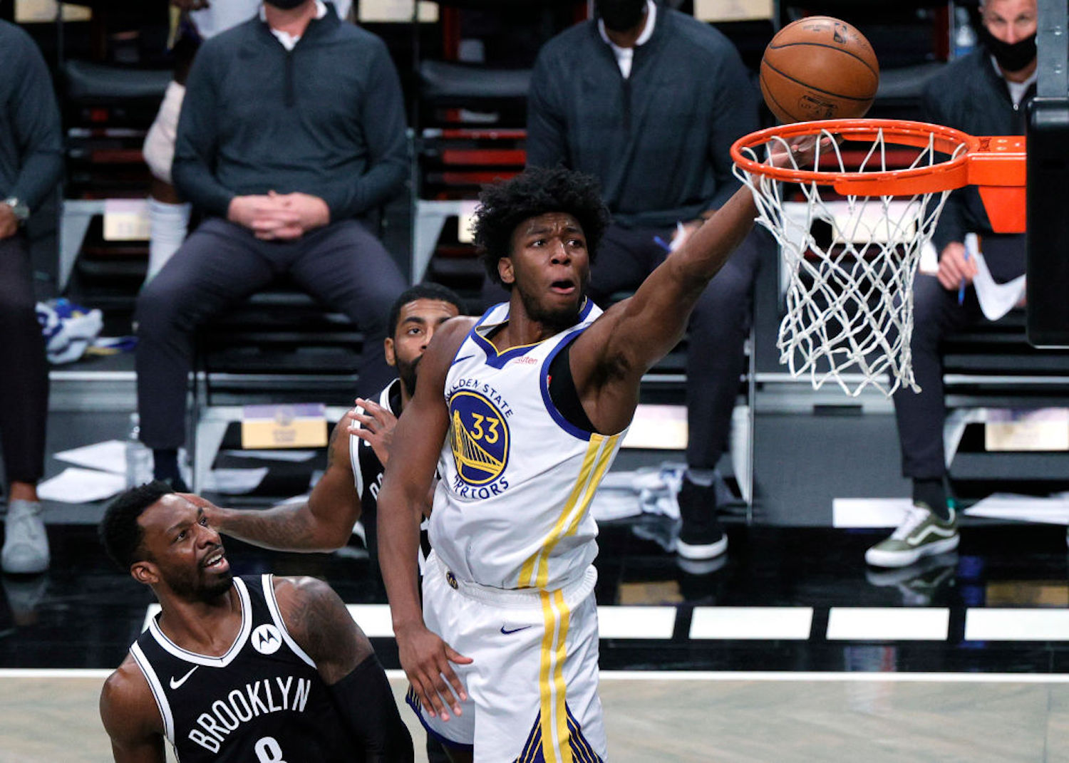 Not much went right for the Golden State Warriors on Tuesday night, but rookie first-round pick James Wiseman looked like the real deal.