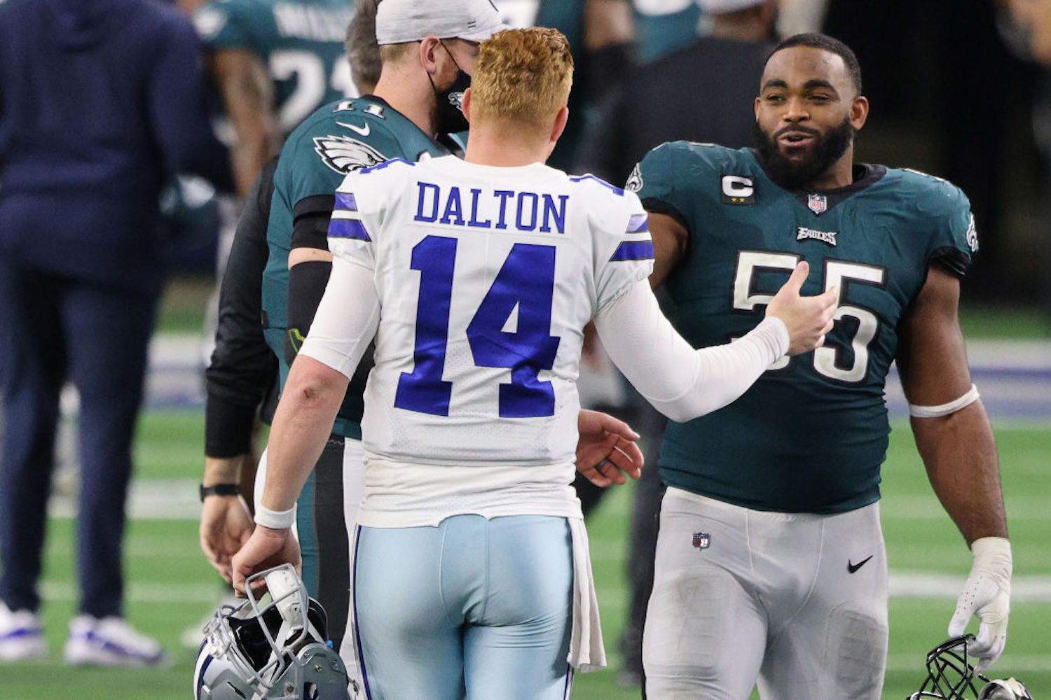 The Cowboys have a burning hatred for the Eagles, but they'll be rooting for their biggest rival harder than anyone next Sunday.