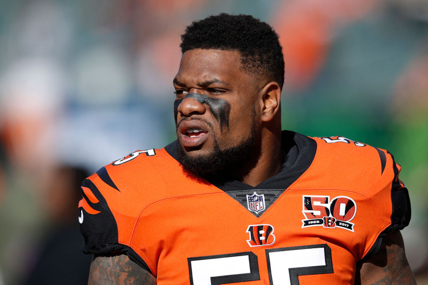 Vontaze Burfict Arrested for Fighting a Security Guard Over 'Secret Pizza'