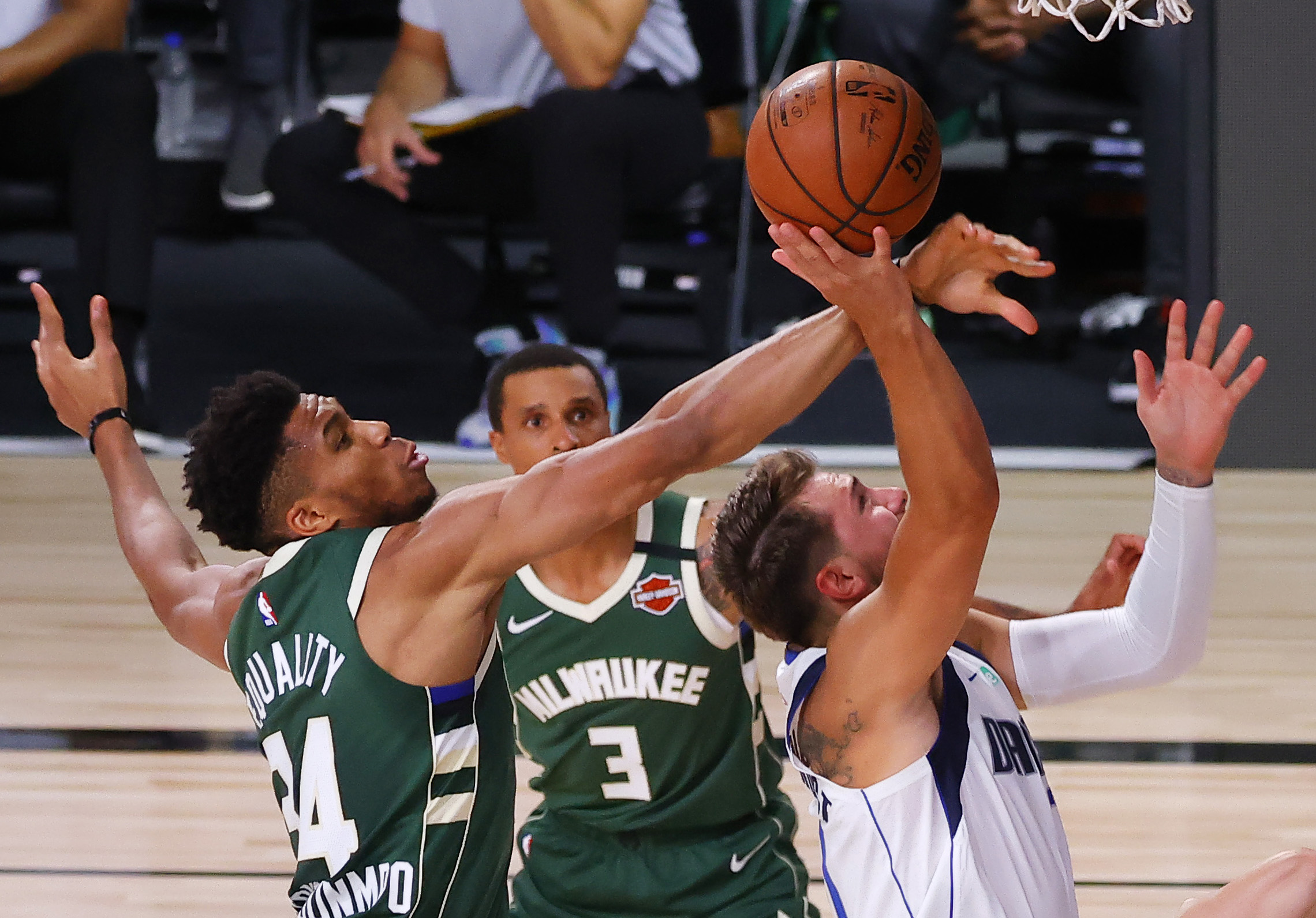 Milwaukee Bucks' Giannis Antetokounmpo