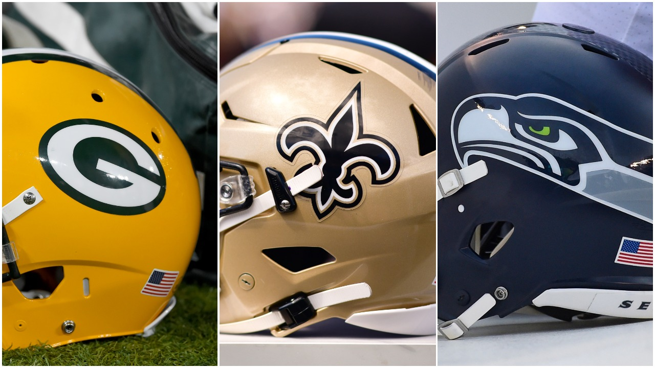 Green Bay Packers New Orleans Saints Seattle Seahawks