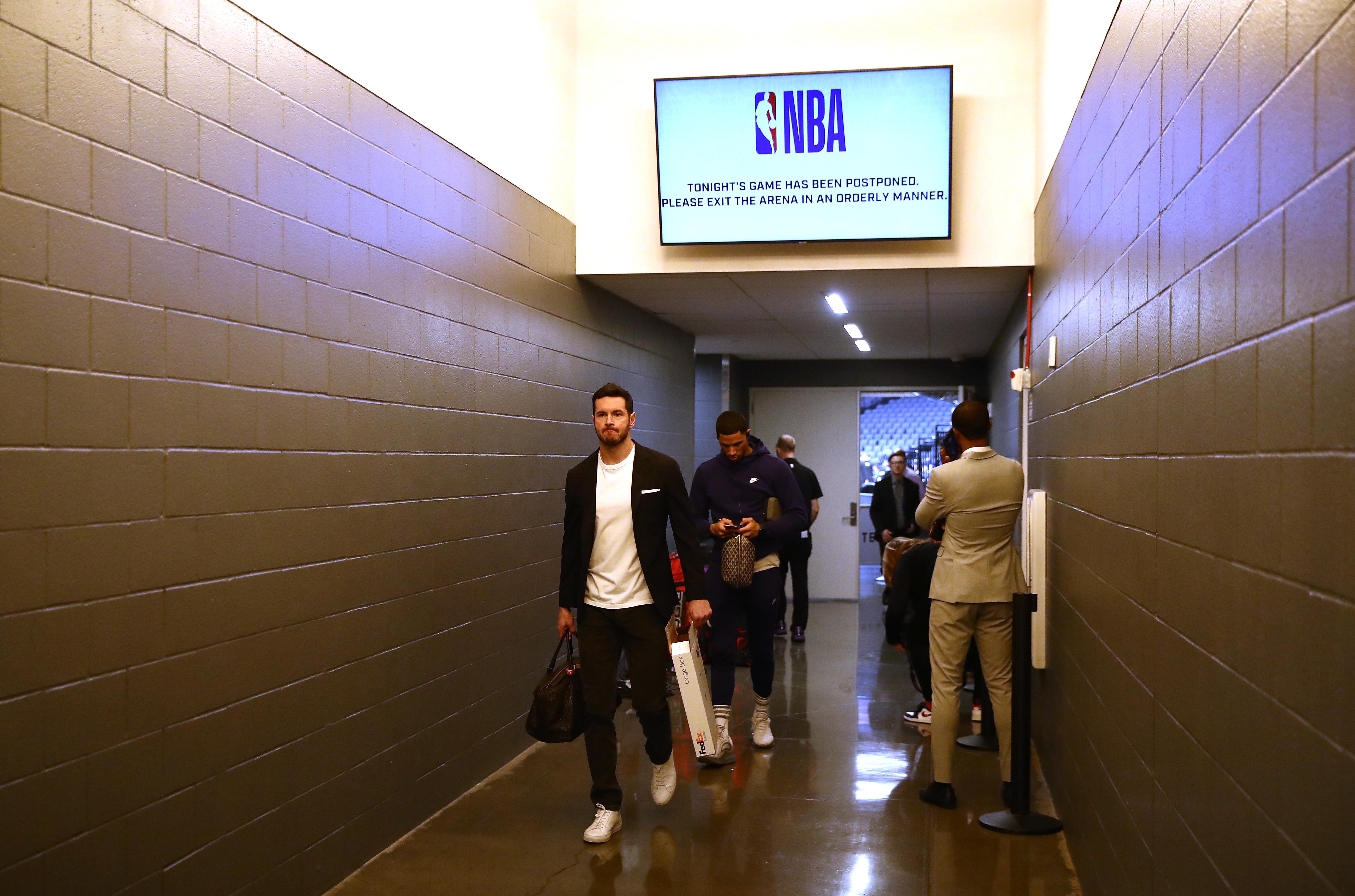 NBA player JJ Redick