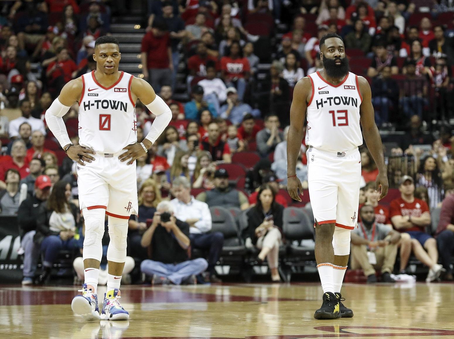 James Harden diva behavior Russell Westbrook departure Houston Rockets