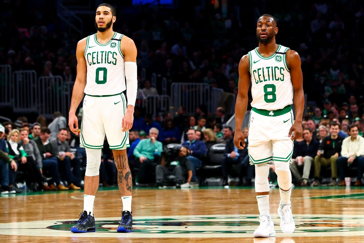 Kemba Walker, Jayson Tatum, Celtics