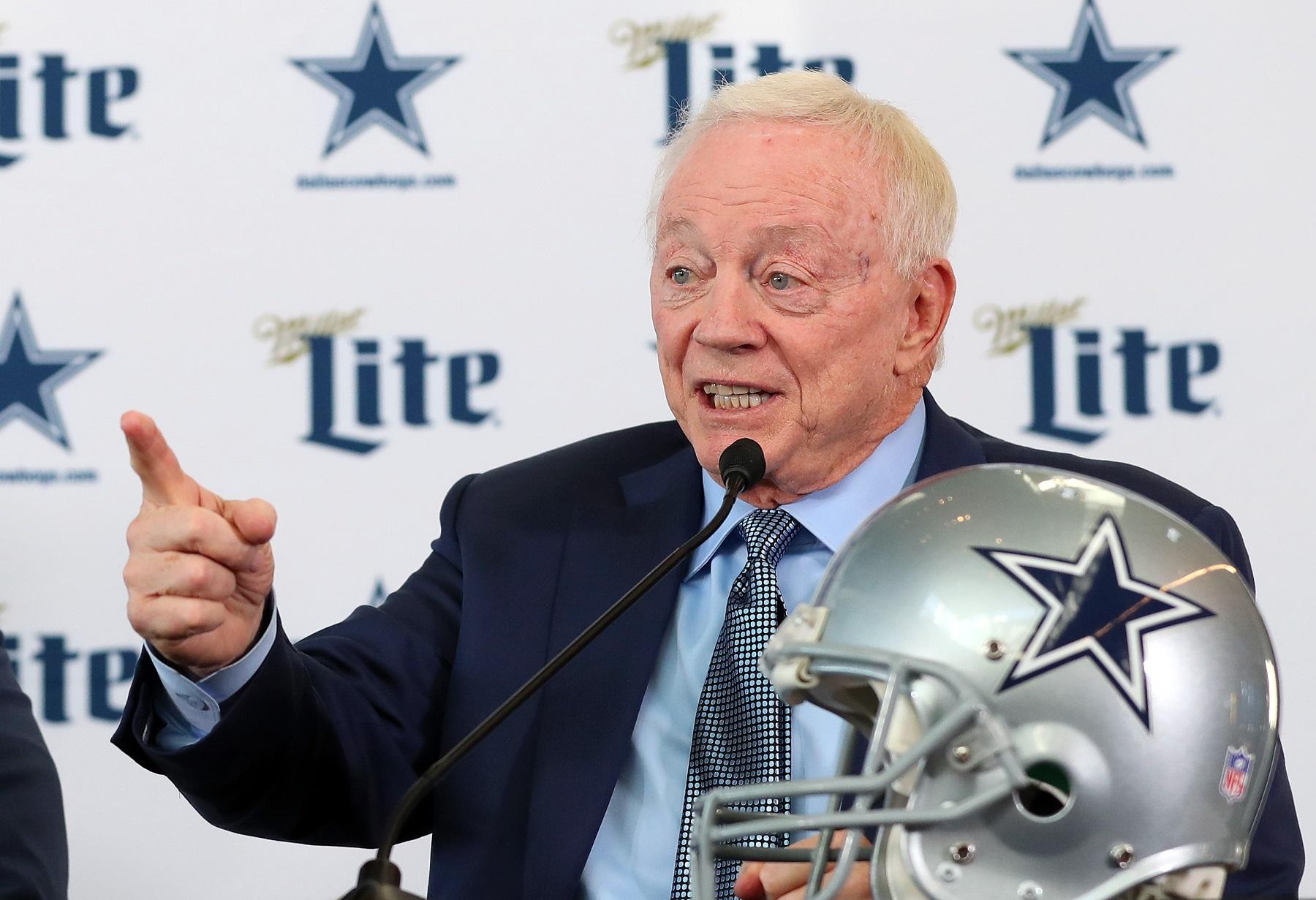 Jerry Jones, NFL owner
