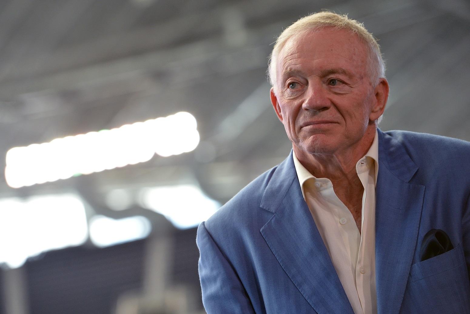 Jerry Jones Super Bowl 45 fiasco cost NFL millions of dollars