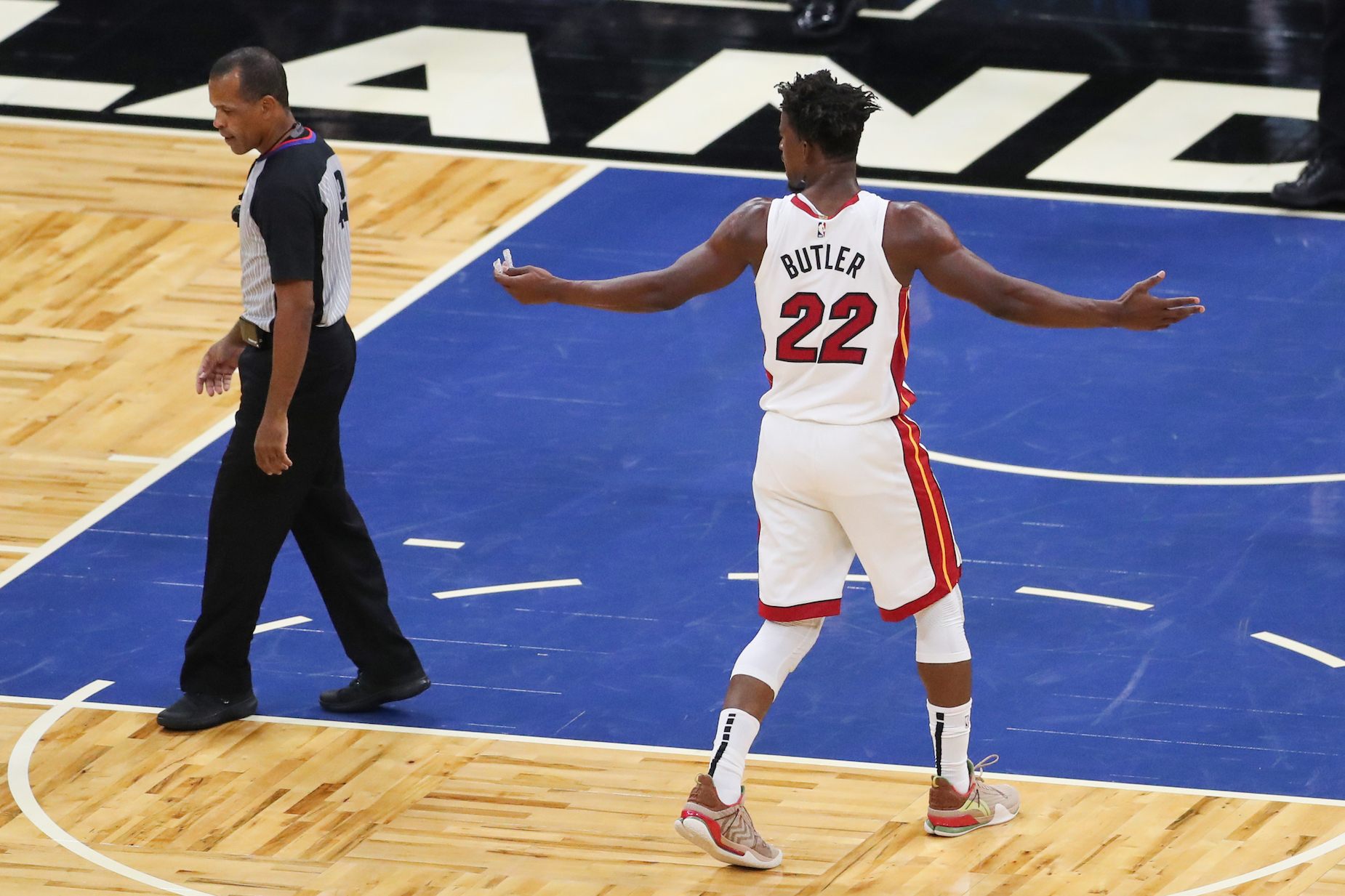 Jimmy Butler won't be playing for the Miami Heat when they meet the Milwaukee Bucks on Tuesday.