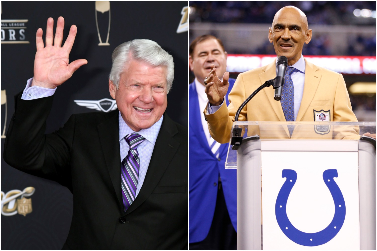 Jimmy Johnson and Tony Dungy are no strangers to NFL success. The coaching icons are now playing a major role in the future of the Texans.