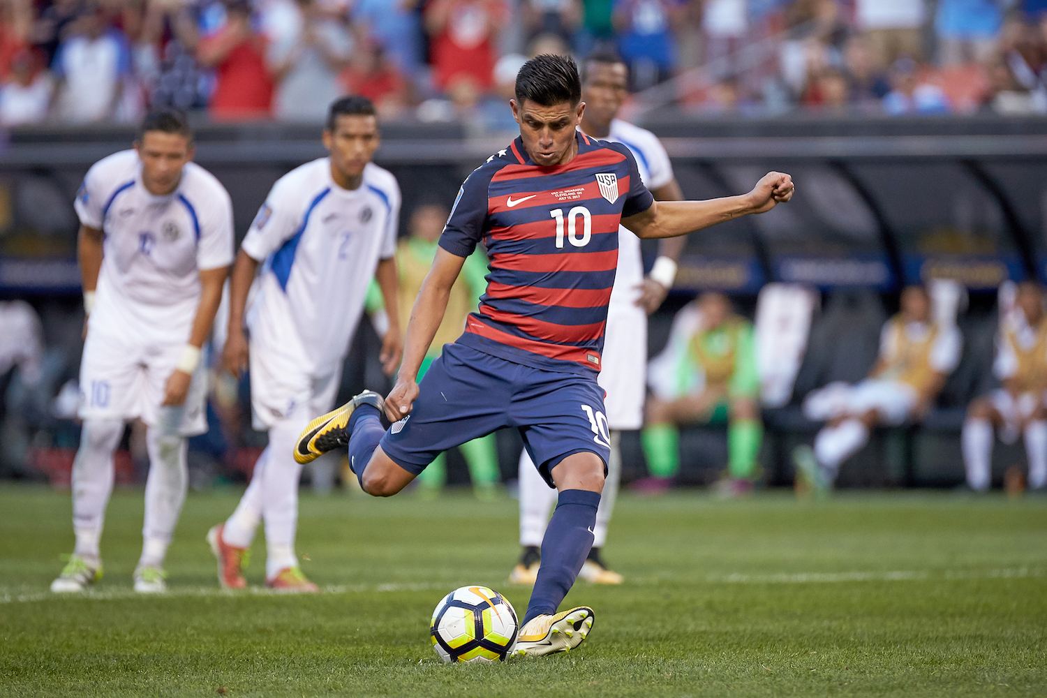 United States midfielder Joe Corona