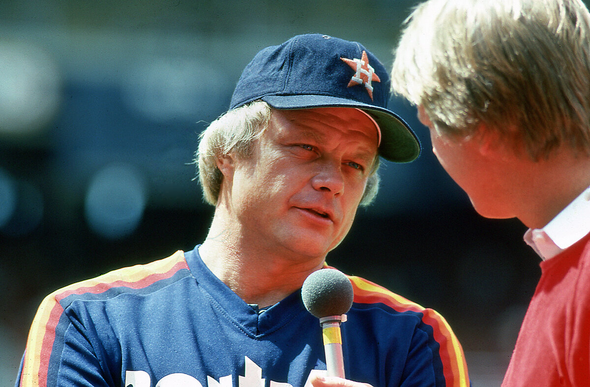 Joe Niekro used his knuckleball to become a Houston Astros legend in the 1970s and 1980s. Niekro tragically died in 2006 from a brain aneurysm.