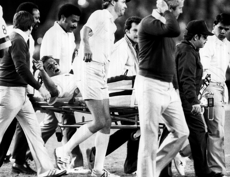 Joe Gibbs has one regret regarding Joe Theismann's career-ending injury.