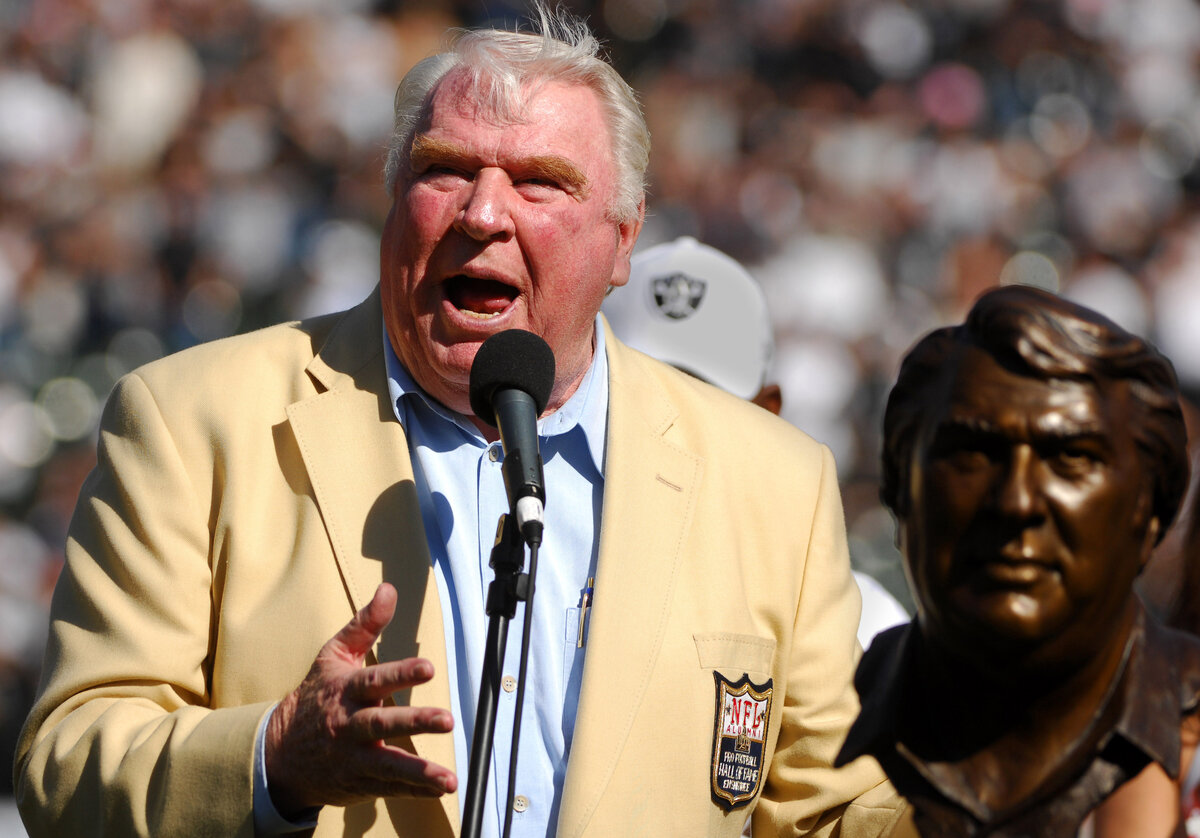 John Madden Never Worked the Pro Bowl in Hawaii, and Not Because He Found the Game Useless