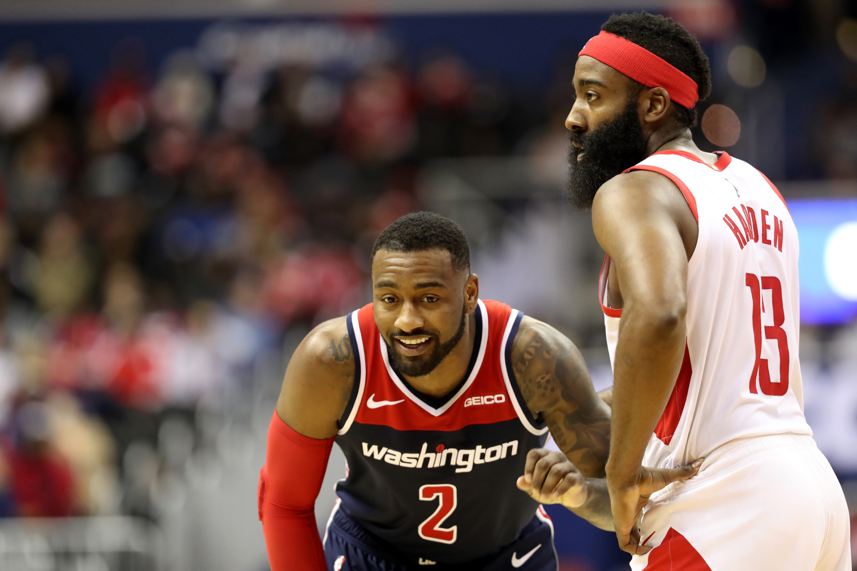 John Wall is new to the Houston Rockets, but he is already sending an encouraging message about James Harden and his future with the team.