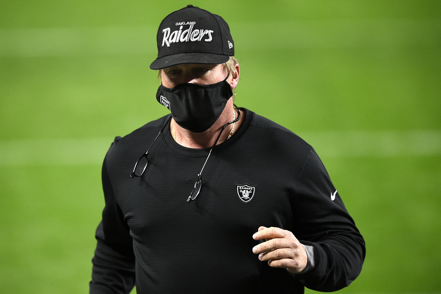 Jon Gruden's Hat Stole the Show Thursday Night