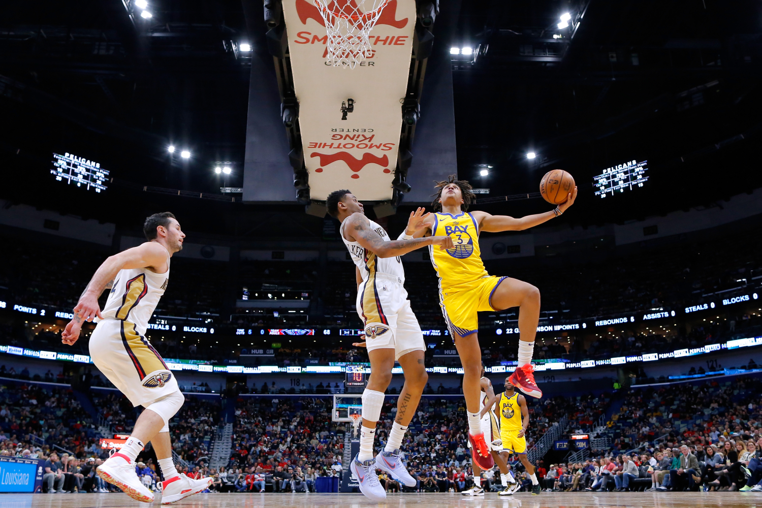 The Golden State Warriors have some talented, big-named players. However, their $2.06 million man, Jordan Poole, could have a breakout year.