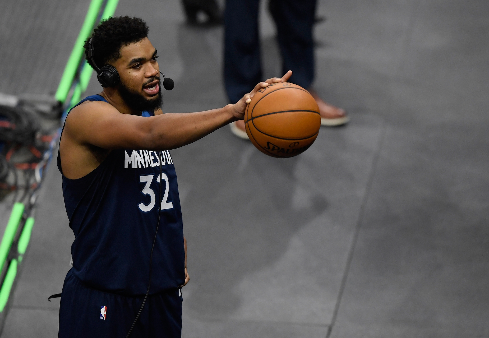 Minnesota Timberwolves big man Karl-Anthony Towns will never be the same after his tragic 2020.