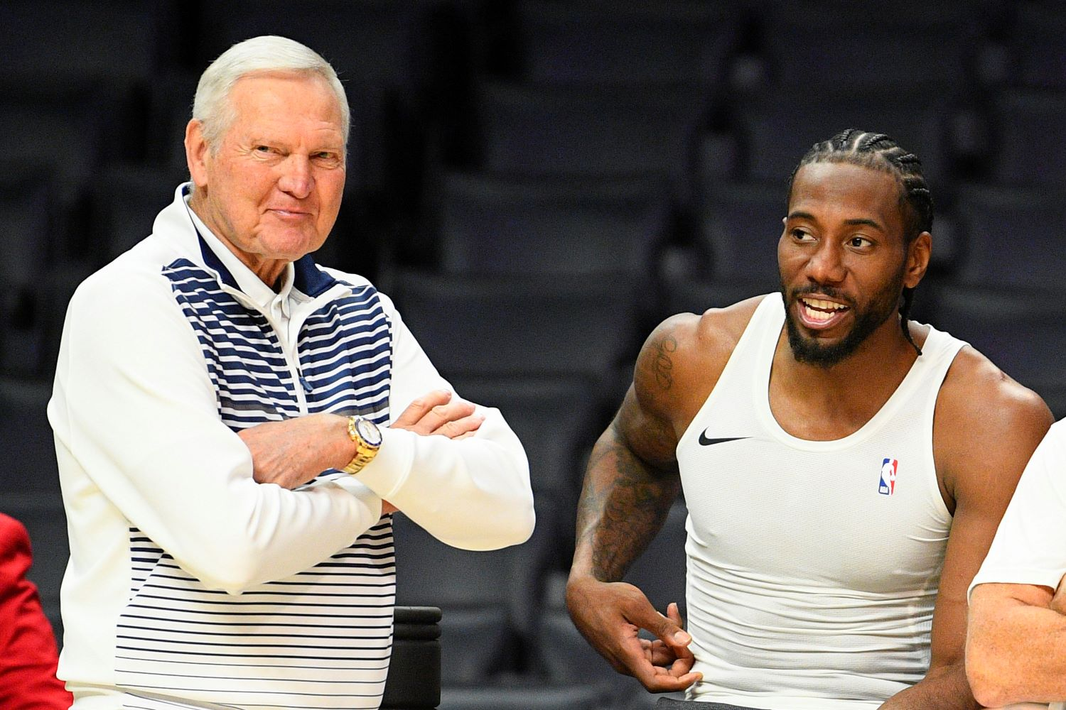 Jerry West faces a $2.5 million lawsuit from a man who claims to have helped bring Kawhi Leonard to the LA Clippers.