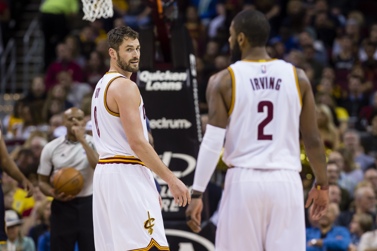 Kevin Love and Kyrie Irving had a ton of success together on the Cavaliers. However, Love was just critical of Irving's recent comments.