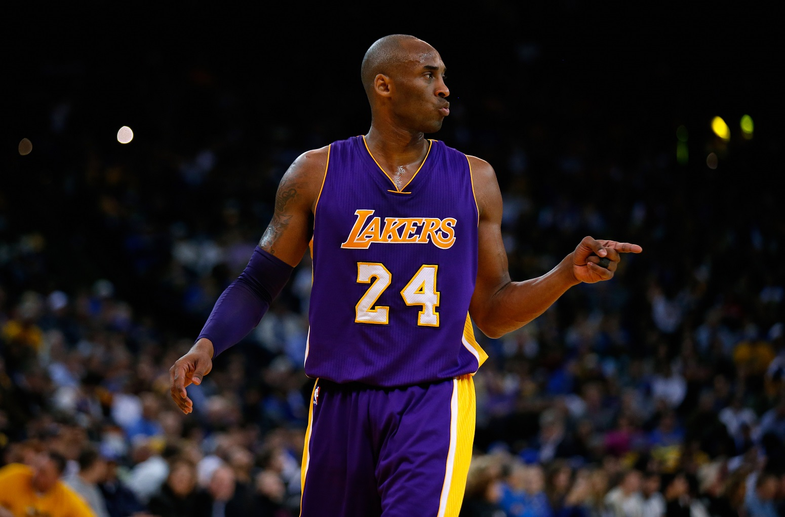 Kobe Bryant unmistakable reason No. 24 Lakers