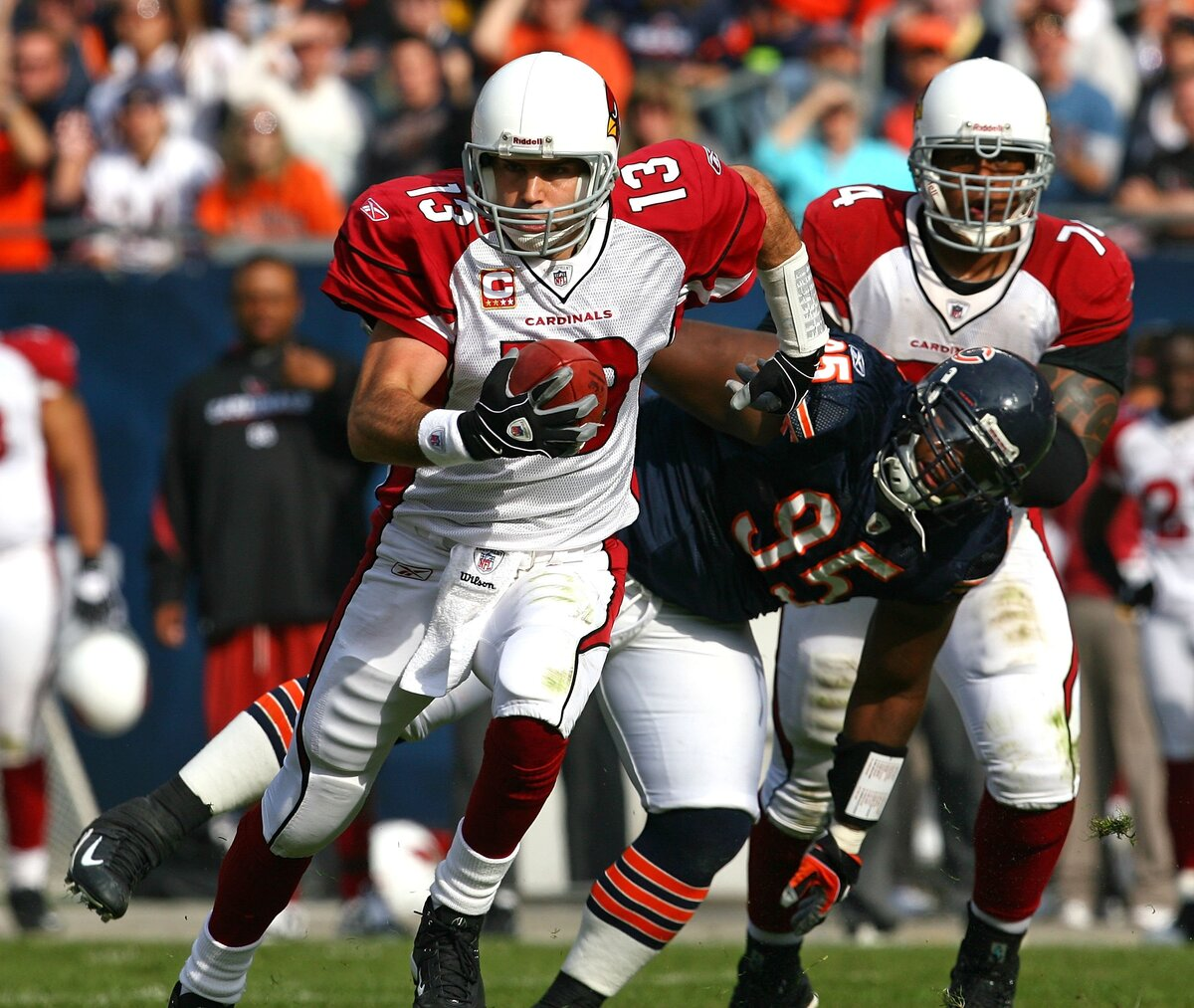 A Wedding and a Spider Bite Cost Kurt Warner a Chance to Star for the Chicago Bears