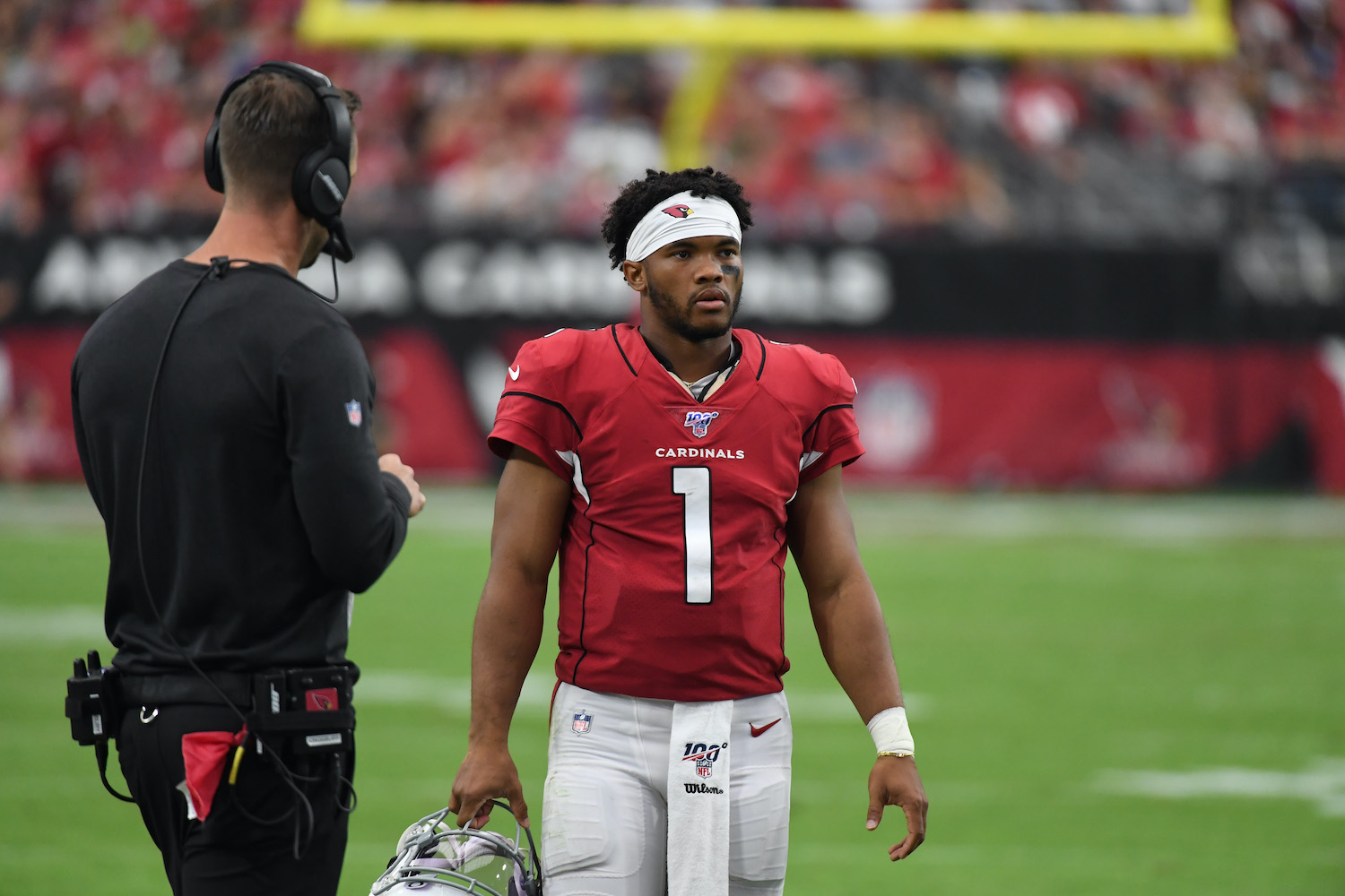 Kyler Murray chose football over baseball and became unique among first-round quarterbacks when he went No. 1 in the NFL draft.