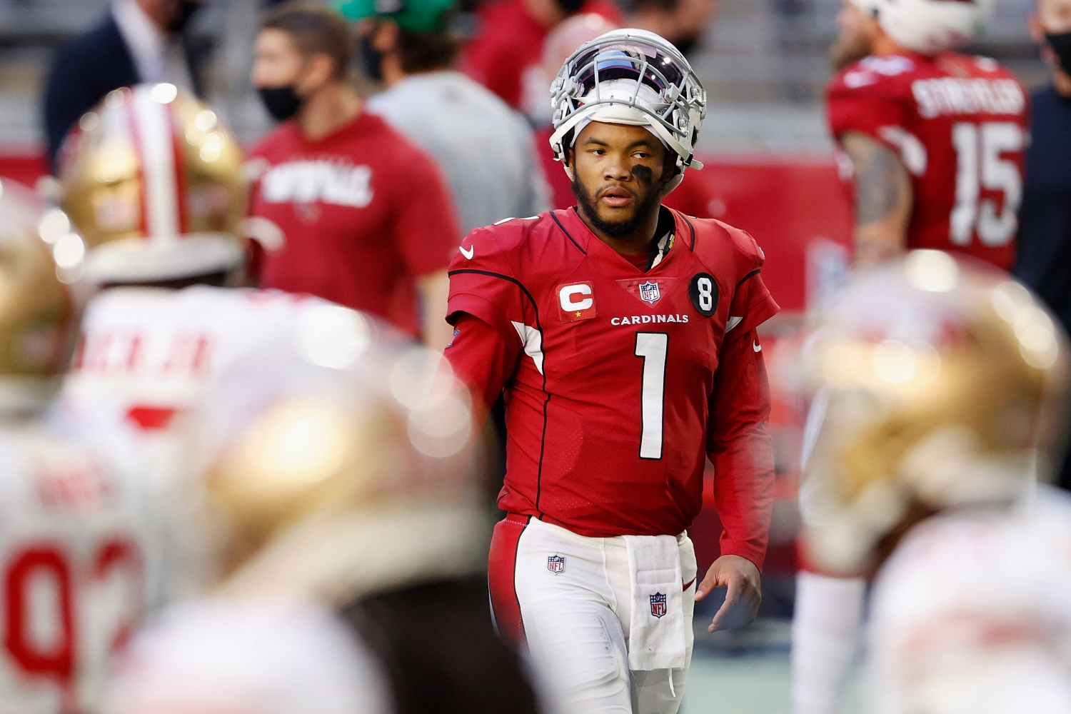 In a win or go home game against the Los Angeles Rams, the Cardinals received some good news about Kyler Murray.