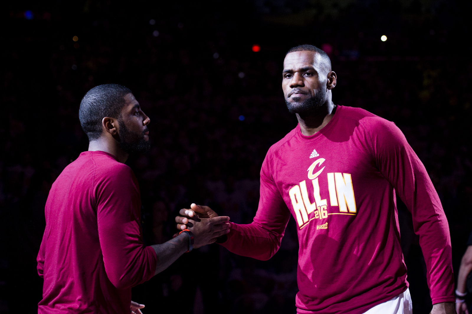There has been a ton of speculation about the relationship between Kyrie Irving and LeBron James. Well, we maybe have some answers now.
