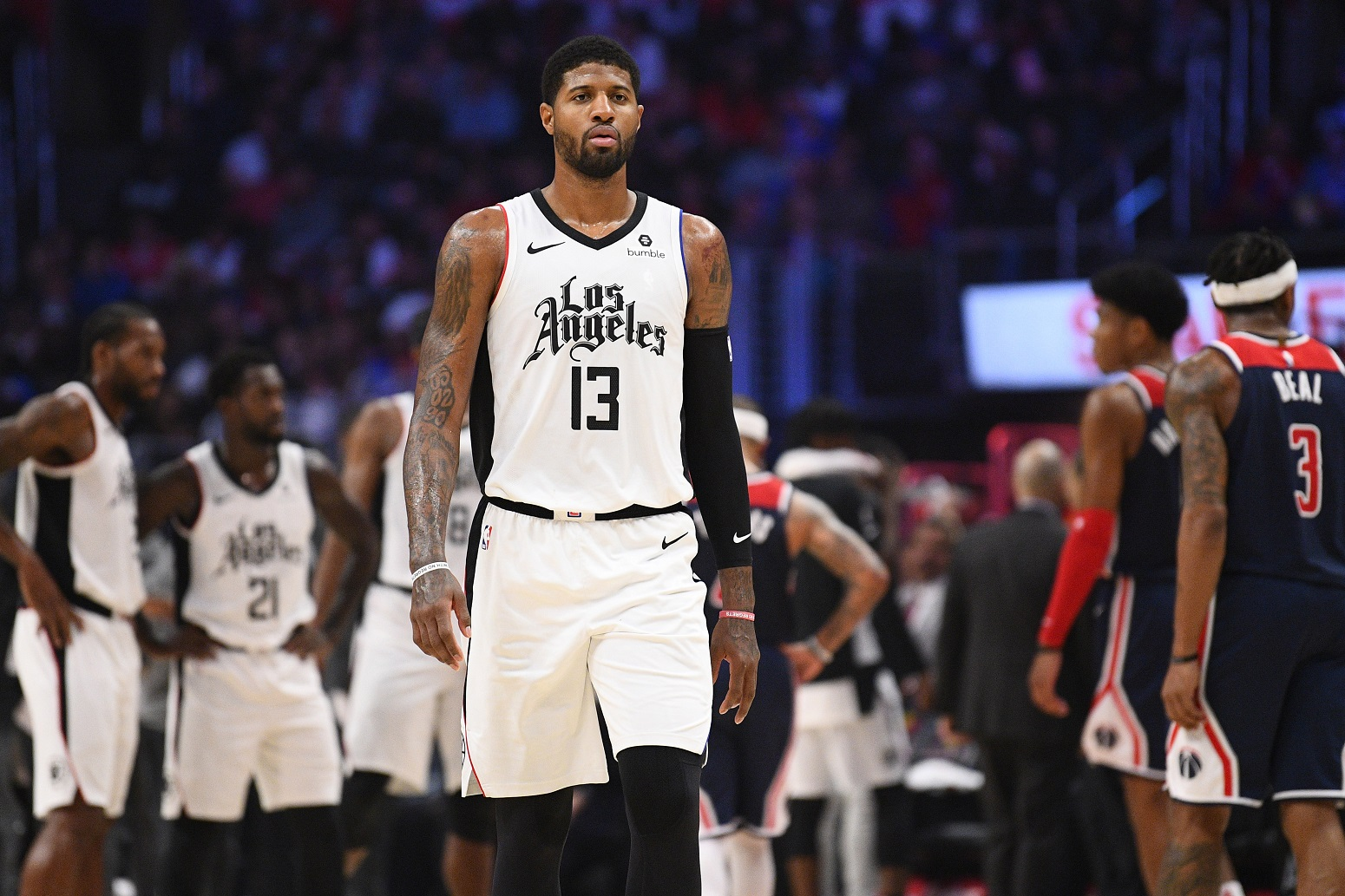 LA Clippers Paul George long-term future